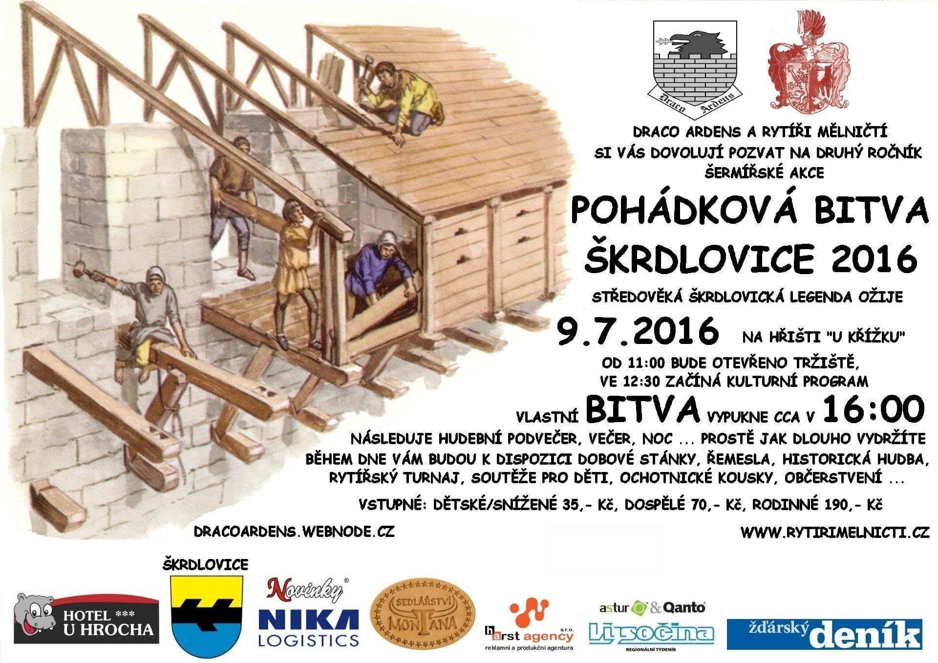 Pohádková bitva Škrdlovice 9.7.2016